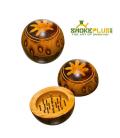 Дървен грайндер топка