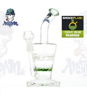 Стъклен бонг AMSTERDAM GREEN