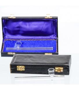Стъклена лула в кутия