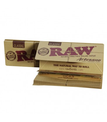 RAW Artesano King Size Slim+tips