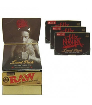 ЛИСТЧЕТА WIZ KHALIFA RAW +TIPS LOUD PACK 1 1/4