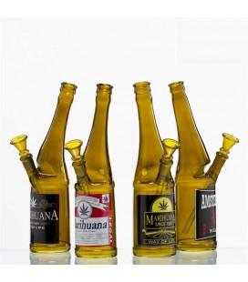 Стъклен бонг Beer Bottle 26 см