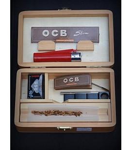 Дървена кутия за свиване средна
