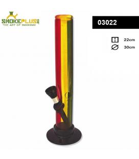 Пластмасов бонг Rasta Stripe 22 см